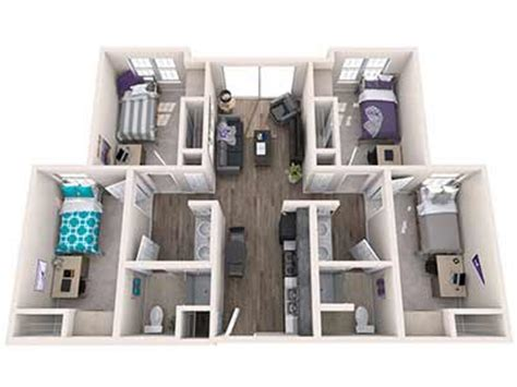 Bathroom And Laundry Room Floor Plans Office Of Residence Life Student Housing Grand Canyon