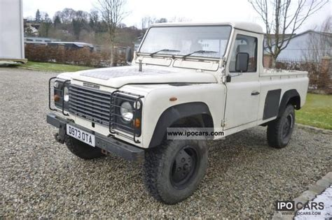 1987 land rover type 110 car photo and specs