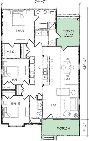 House Plans For Narrow Lots by Plan 10035tt Narrow Lot Bungalow House Plan Bungalow