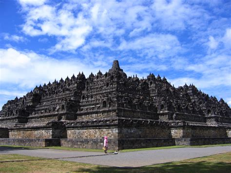 A Place Indonesia Borobudur Temple Beautiful Place In Central Java Indonesia World Tour