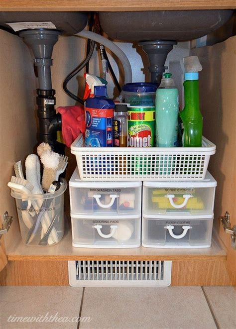 kitchen cabinet organizing 10 ways to make your rv kitchen storage more organized