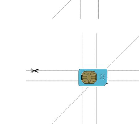 micro sim card to nano sim template how do i cut my own micro and nano sim cards