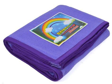selimut rainbow line ungu grosir selimut murah