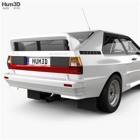 Audi Quattro A2 by Audi Quattro A2 1981 3d Model Hum3d