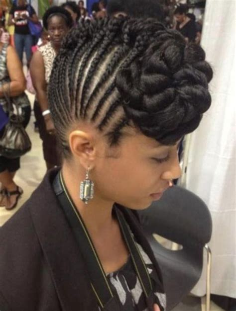 best hair to use for braided mohawk 50 mohawk hairstyles for black women stayglam