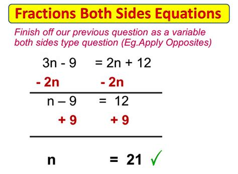 Equations With Variables On Both Sides Worksheet by Lessons Passy S World Of Mathematics Mathematics Help
