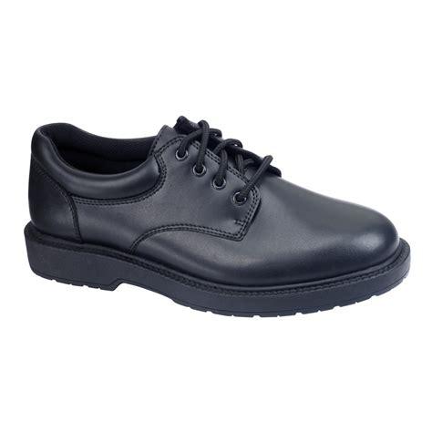 safetrax shoes safetrax s kato2 non skid black leather work shoe