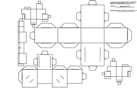 minecraft blank skin template cubeecraft template blank by mabana7777 on deviantart