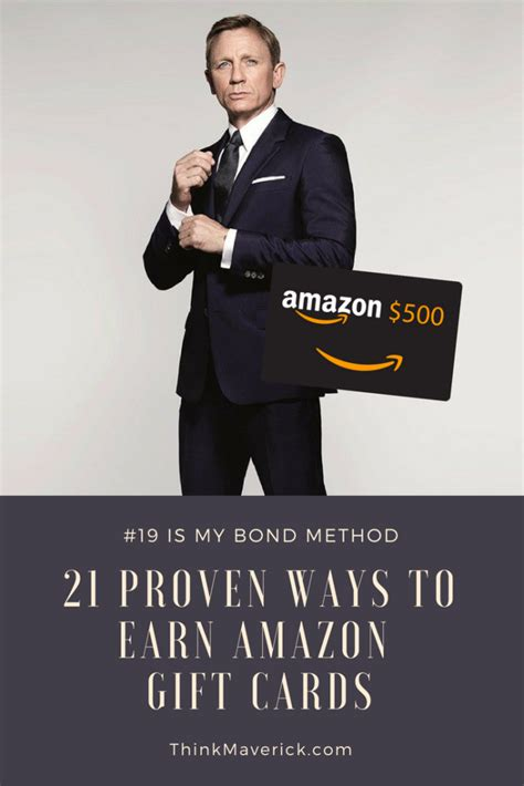 Earn A Amazon Gift Card - 21 proven ways to earn amazon gift cards every month thinkmaverick my personal