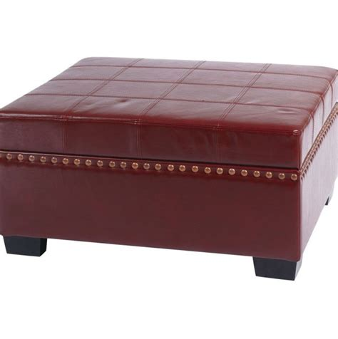 leather ottoman with storage and tray white leather ottoman with tray home design ideas