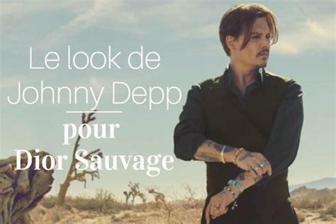 Le look de Johnny Depp pour Dior Sauvage   Gentleman Moderne