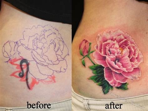 peony rose tattoo 32 best font s images on