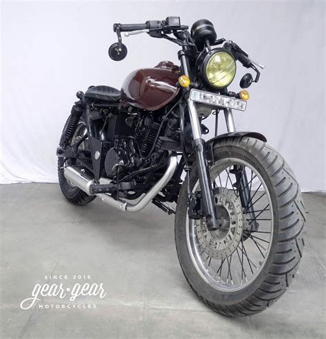 Modified Bobber by Modified Bajaj Avenger Bobber By Gear Gear Motorcycles