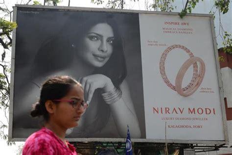 priyanka chopra tv commercial priyanka chopra terminates her contract with nirav modi