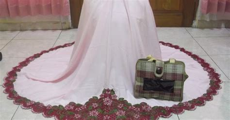 Mukena Sari India 2 Ungu grosir mukena bordir murah dan cantik khas kota