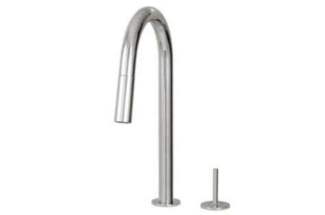 aquabrass kitchen faucets aquabrass 6045j quinoa slim pull dual mode