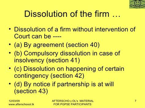 section 69 of partnership act indian partnership act