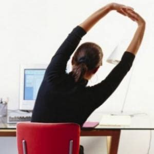 how to do desk exercise at work best exercises to do at