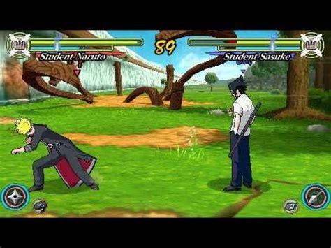 download game sasuke rpg mode naruto ultimate ninja heroes 3 psp gameplay free mode