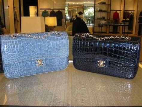 Chanel Crocodile 255 by 39 Slinky And Scaly Reptile Innovations
