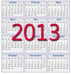 Kalender 2013 Zum Ausdrucken Kostenlos Kalender Vorlagen 2013 Zum Ausdrucken Kostenlos