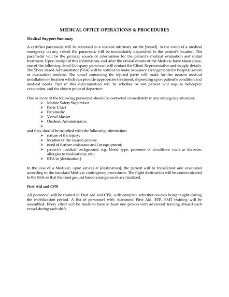 policy and procedure template for office best photos of office handbook template office manual
