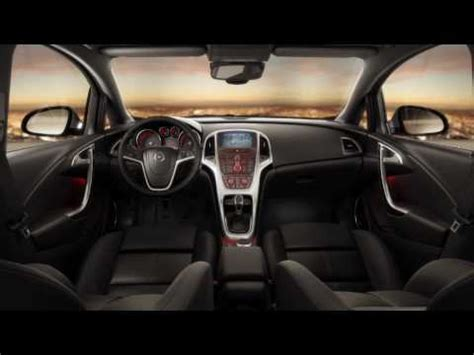 Opel Astra 2011 Interior by New Opel Astra J Interior Design