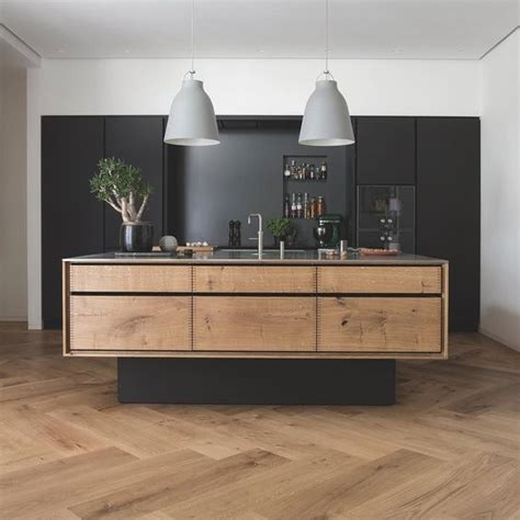 floating kitchen islands wide timber herringbone flooring and quot floating quot kitchen island inspiration timber