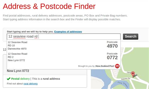Address Finder New Zealand The New Address Postcode Finder One Month On Postmodern