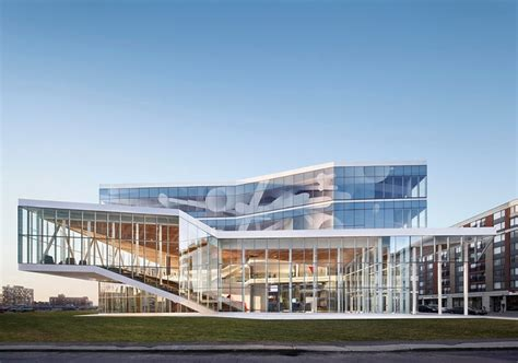 14 top american architects designers ad100 2017 msdl architectes completes 201 ts student center in montreal
