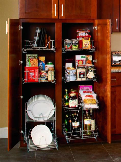 kitchen closet organizer 19 kitchen cabinet storage systems diy