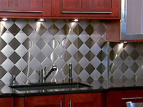Aluminum Kitchen Backsplash Primed4design Design Tip Of The Week 6 7 10 Backsplash Ideas