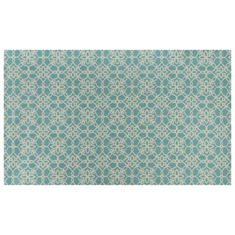 White Area Rug Ruggable Aqua Blue And White Area Rug Reviews Wayfair