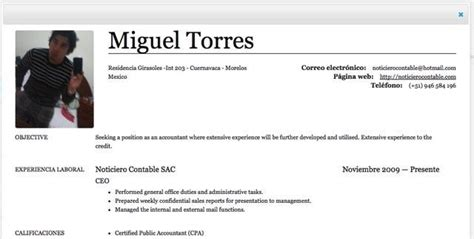 Modelo De Curriculum Vitae Para Contadores Peru Trabajo Como Contador 3 Herramientas Para Elaborar Tu Curriculum Vitae Noticiero Contable