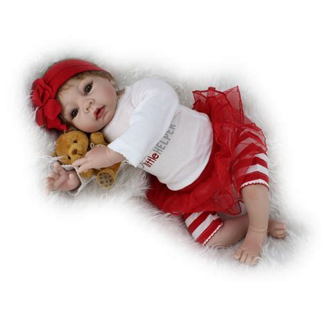 a gift that is soft 22 quot handmade reborn doll newborn gift lifelike soft vinyl silicone baby dolls 661273586730 ebay