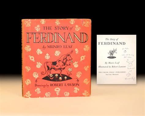 The Story Of Ferdinand the story of ferdinand raptis books
