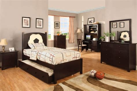 football furniture for bedrooms olympic iii soccer theme bedroom collection available in