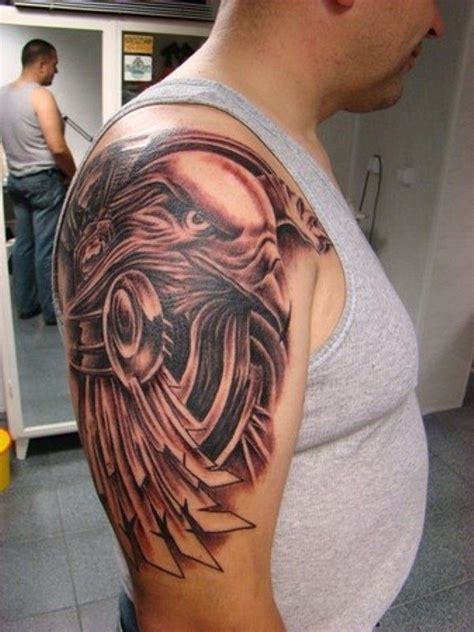 tribal eagle tattoo for men tattoo favs pinterest