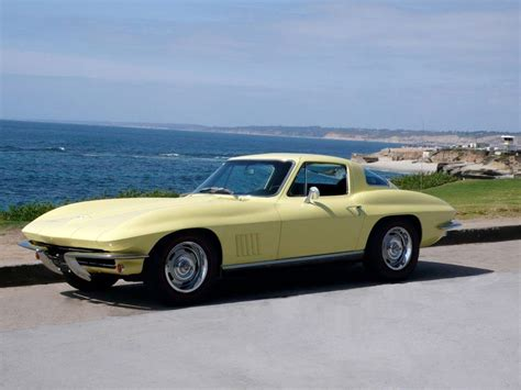 california corvette dealers 1967 sunflower yellow corvette for sale san diego