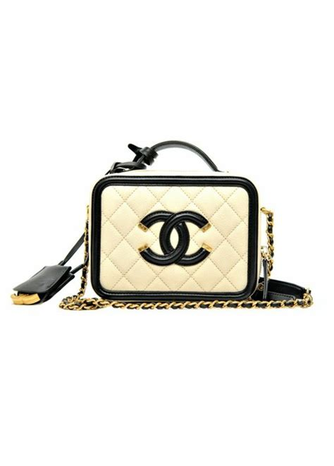 Black Fashion Bag black white chanel handbag handbags 2018
