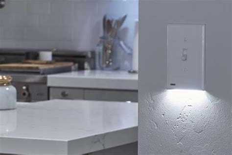 light switch with night light built in snappower switchlight light switch cover with automatic