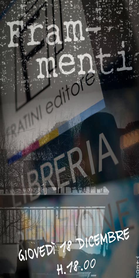 libreria alfani firenze eventi presentazione antologia frammenti ziguline