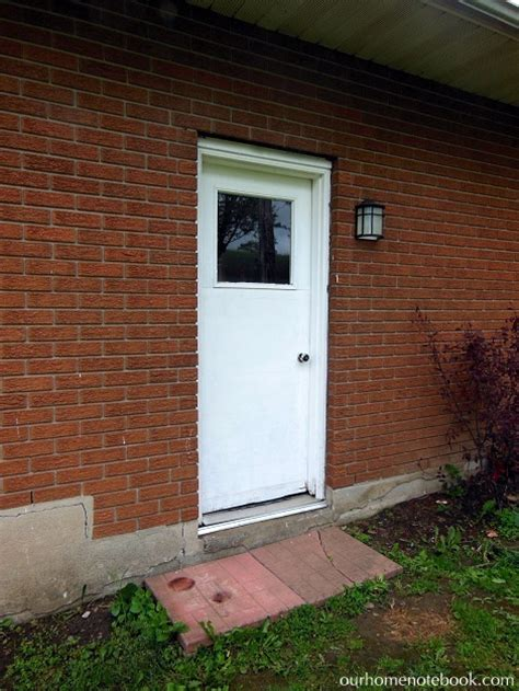 exterior back doors for home a new back door our home notebook