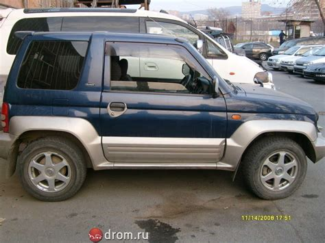 pajero mitsubishi 1998 1998 mitsubishi pajero jr pictures information and