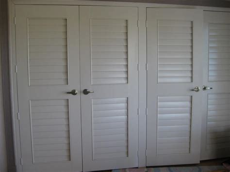 Closet Doors6817 From Wholesale Shutter Company Inc In Shutter Closet Doors