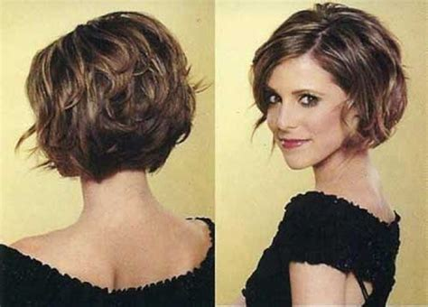 back view wavy short bob for thick hair 2015 meer dan 1000 idee 235 n over dikke golvende kapsels op