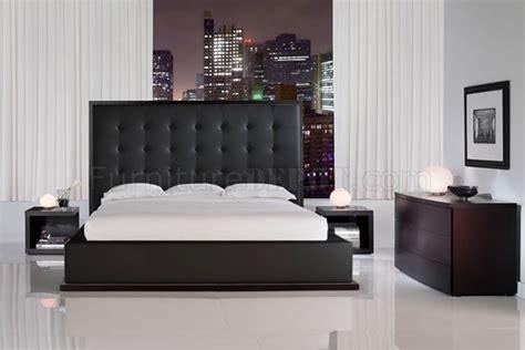 leather headboard bedroom set black full leather ludlow bedroom set w oversized headboard bed