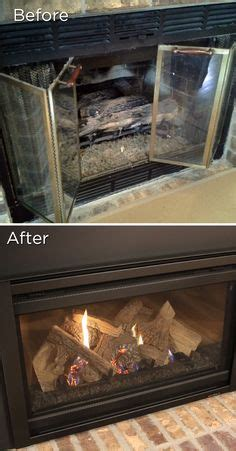 1000 images about before after on gas fireplaces fireplace makeovers and gas