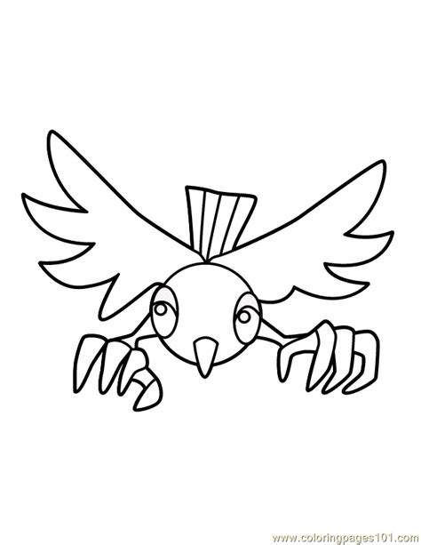 mighty eagle coloring page free coloring pages of mighty eagle