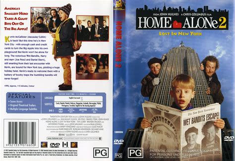 home alone 2 lost in new york images the dvd cover for